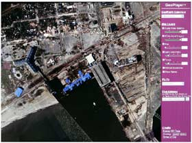 New Orleans several days after Hurricane Katrina.