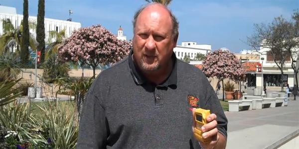 Professor Analyzes Radiation in San Diego