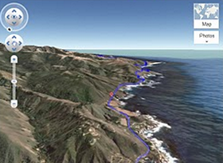 Google Maps launches helicopter view of user's route