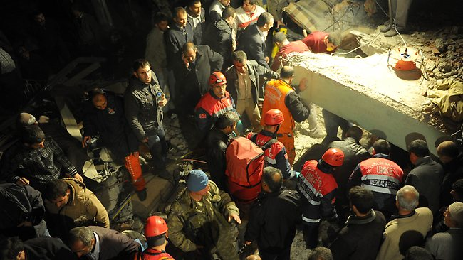 Death Toll from Turkey Quake Expected to Rise as Rescuers Reach Remote Areas
