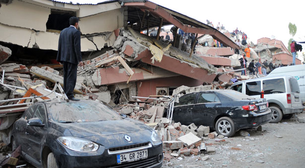 At Least 138 Dead After Turkey Quake