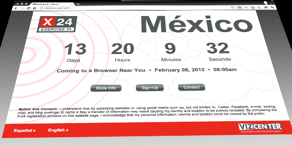Exercise 24 México: Coming to a Browser Near You